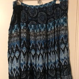 Dress Barn 1X Skirt